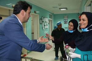 روز پرستار بیمارستان سیدالشهدا